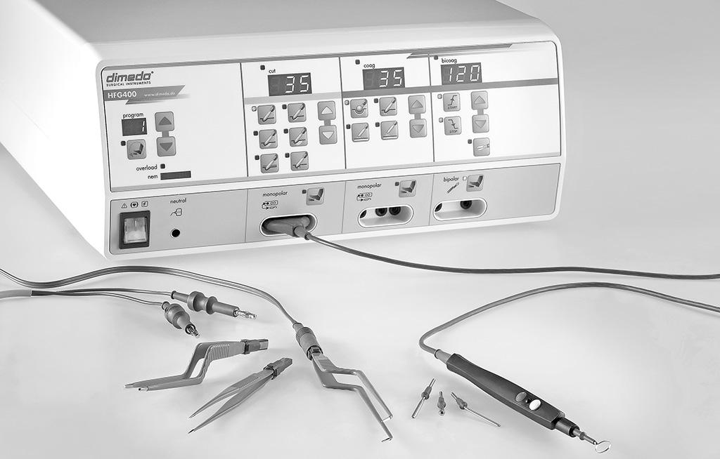 Dimeda Surgical Instruments - Anbieter von Chirurgischen Instrumenten - Elektrochirurgie